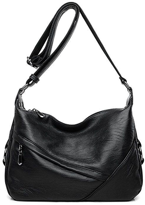 f6b5c596fe31 Women's Retro Sling Shoulder Bag from Covelin, Leather Crossbody ...