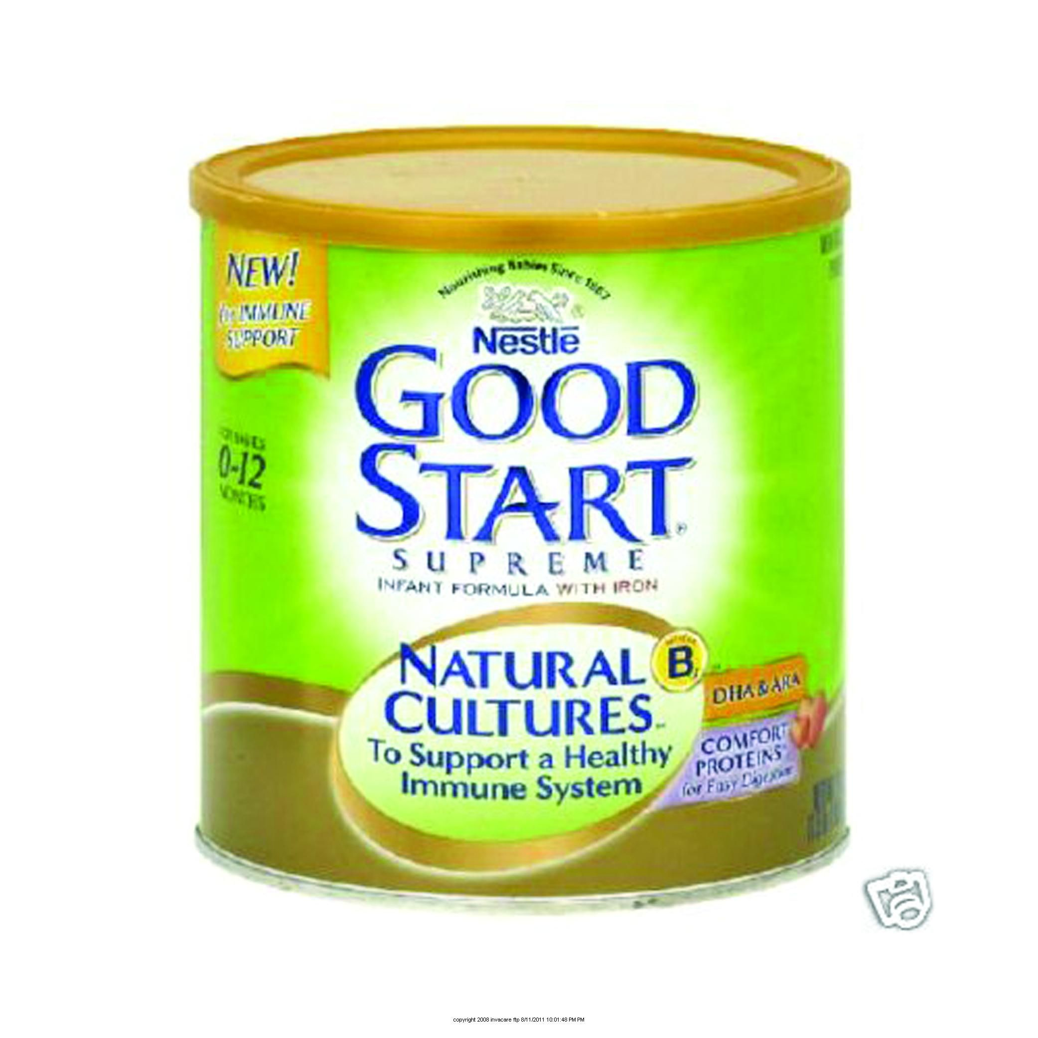 Nestle Good Start Supreme Natural Cultures Infant Formula Baby Formula Nutrition Healthy
