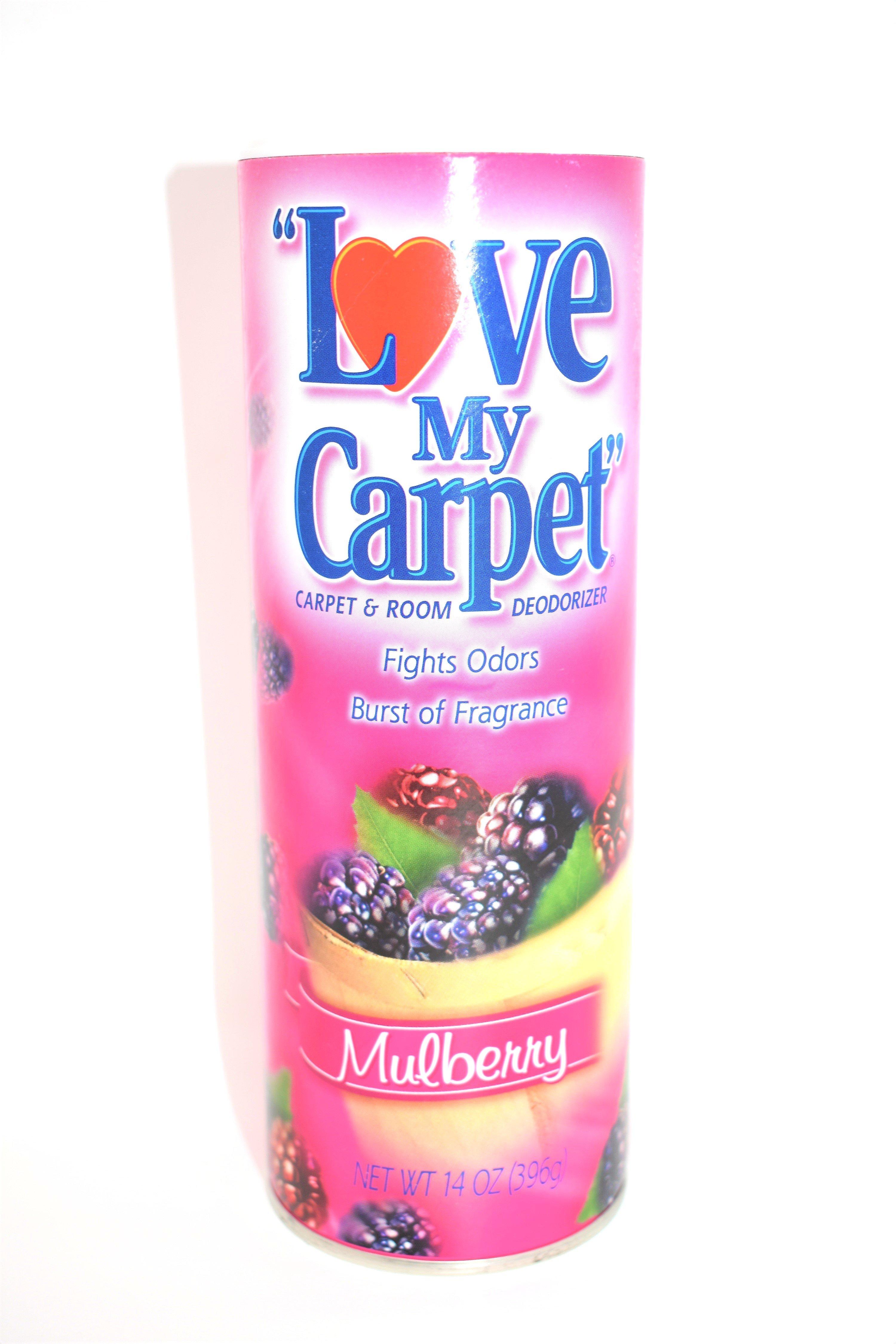 Love My Carpet Mulberry Carpet Room Deodorizer 14 Oz Room Deodorizer Deodorant Clean Scents