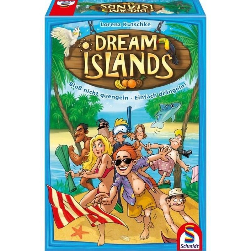 Dream Island - Bloß nicht quengeln, einfach drängeln! Spielwaren Brettspiele