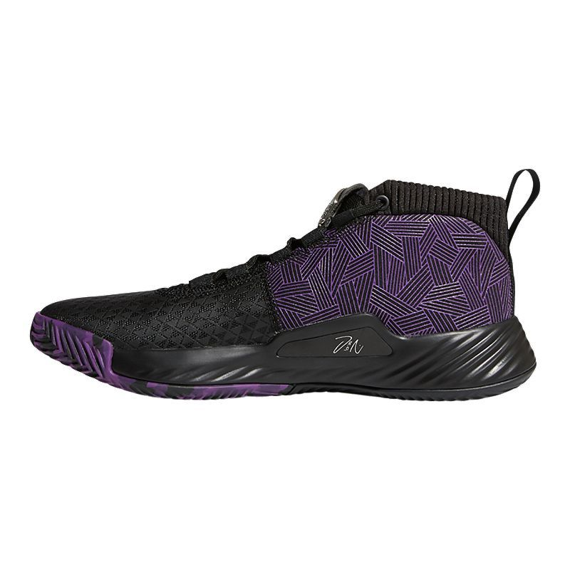 adidas Men's Marvel Black Panther Dame 5 Basketball Shoes