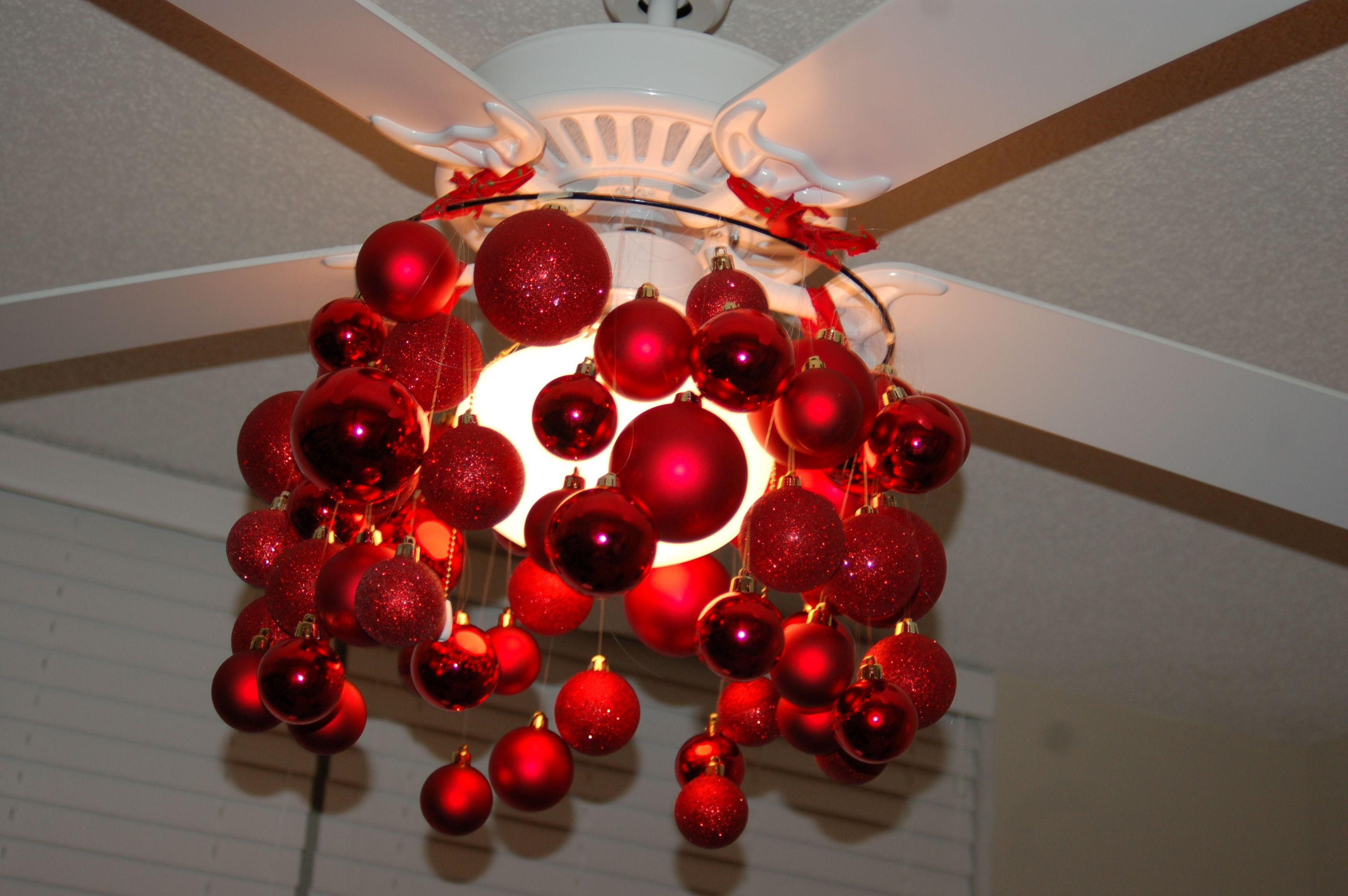 Ceiling Fan Chandelier Fail Diy Christmas Decorations For Home Diy Chandelier Ceiling Fan