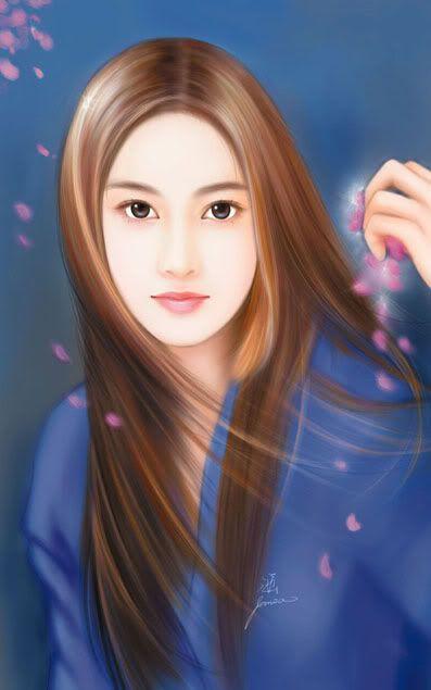 Hübsche chinesische Damen