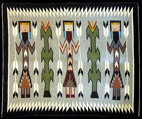 Navajo Yei Bi Chei Rug Mae Johnson 10 Product