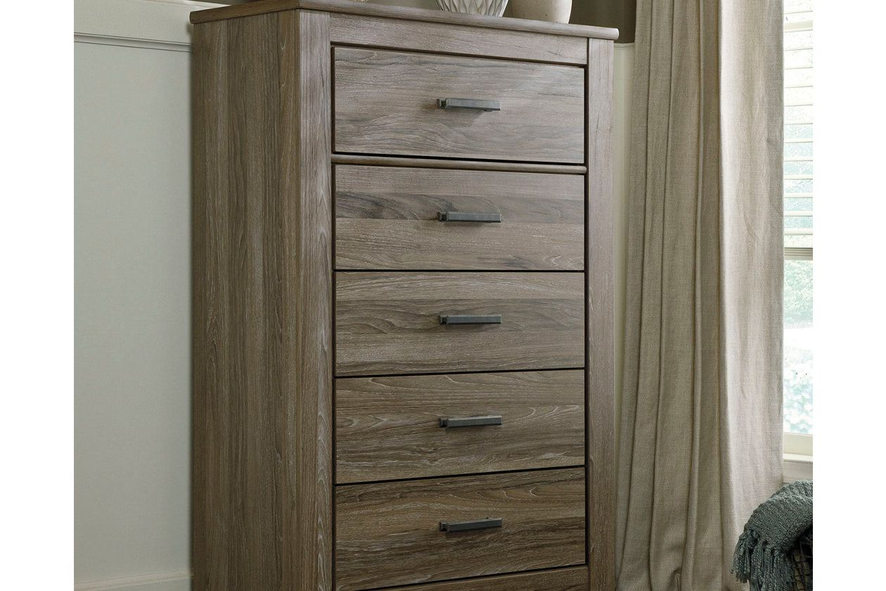 Zelen Chest of Drawers Ashley Furniture HomeStore Grey