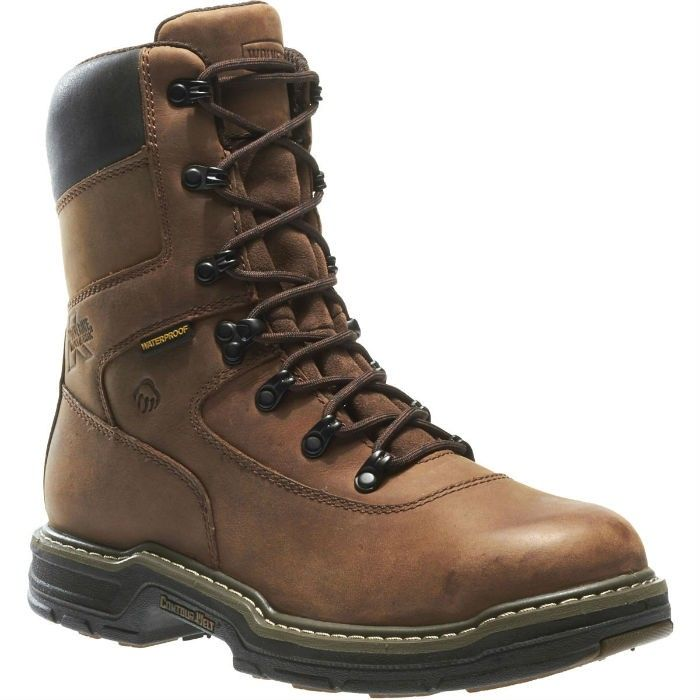 #WolverineWorkBoots were designed specifically for rigid conditions, for instance, places where construction is being done. Besides, it is Cement construction that is used to produce them, instead of Goodyear welt construction. Goodyear welt construction allows for enhanced durability, while Cement construction is employed for comfort and pliability.