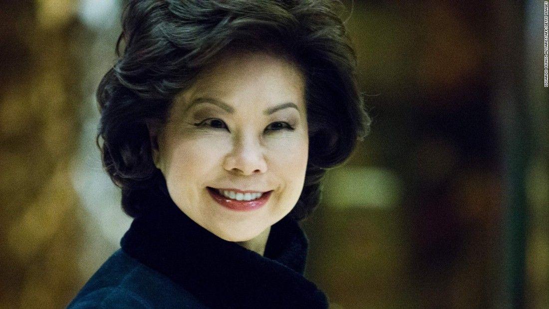 Trump picks Elaine Chao for transportation secretary - CNNPolitics.com
