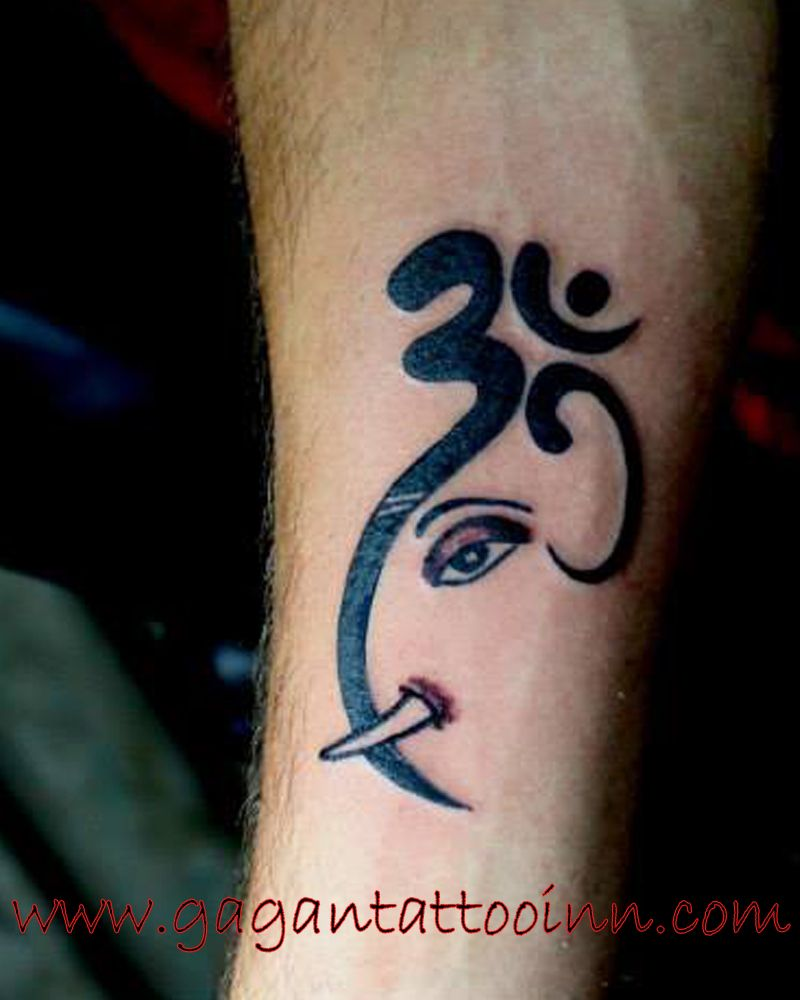 Ganesh Om Ganesh Tattoo Shiva Tattoo Design Tattoos