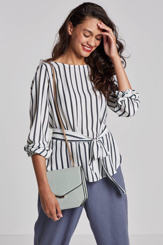 13032f603b3 SisterS Point Lucy top met streep #wehkamp #top #shirt #blouse ...