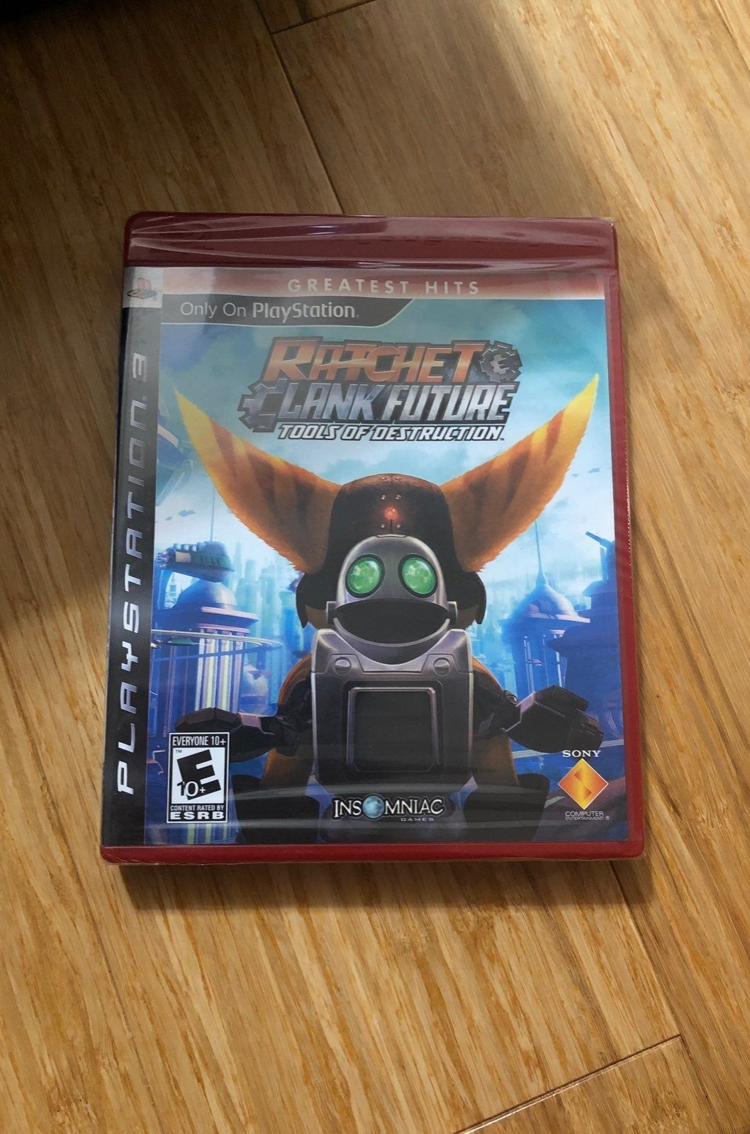 Factory Sealed Ratchet And Clank Future Tools Of Destruction For