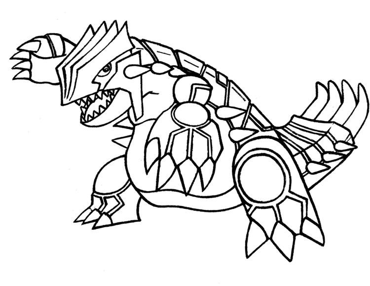 Pokemon Coloring Pages Groudon Legendary Pokemon Pokemon Para Colorir Pokemon Colorir