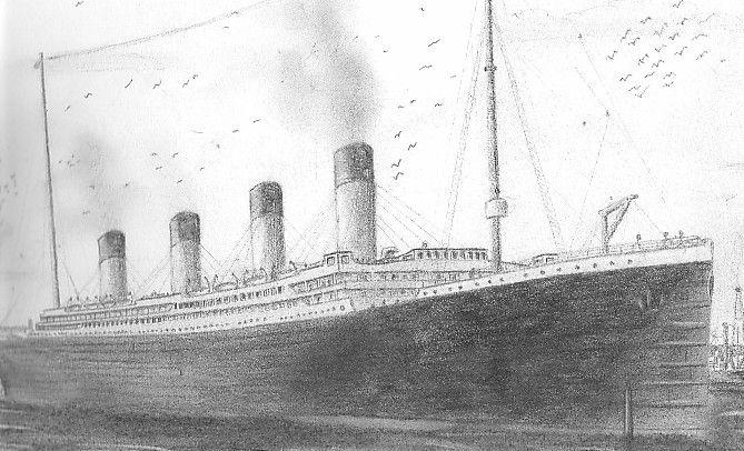 Les dessins sur le titanic art ideas in 2019 titanic artwork drawings - Titanic dessin ...
