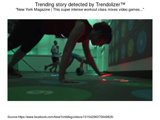 This Super Intense Workout Class Mixes Video Games With Exercise Via Trendolizer