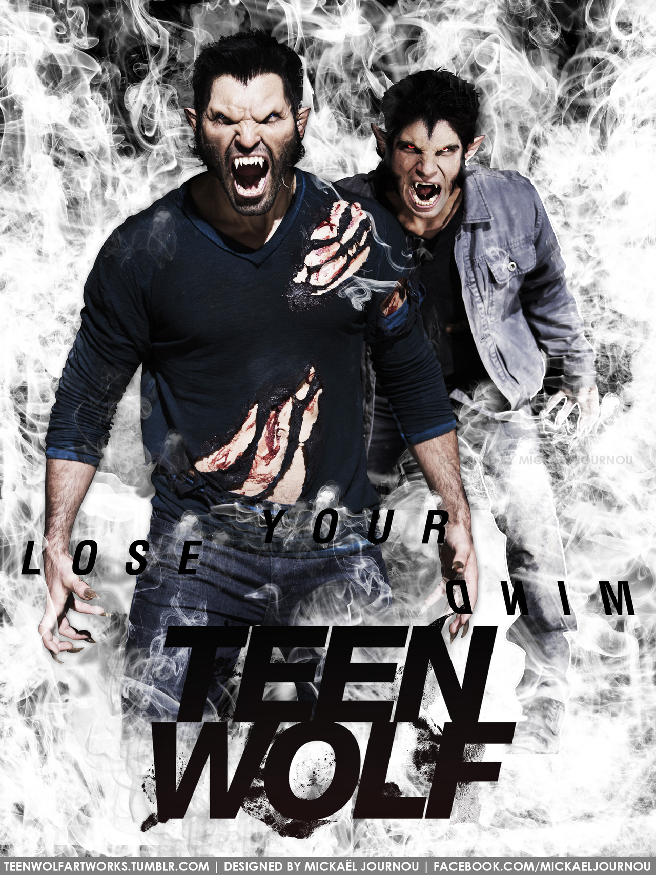 Teen Wolf Poster Season 3 - Derek/Scott by FastMike ...