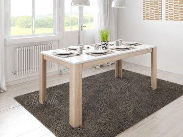 Eetkamer Wit Hoogglans : Eetkamertafel amarillo is een houten eettafel afgewerkt in licht