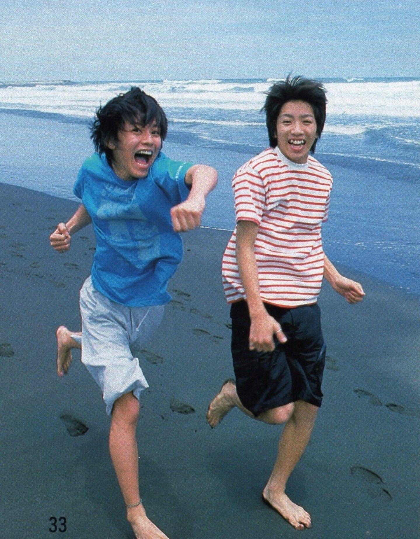 海を走る渋谷すばる