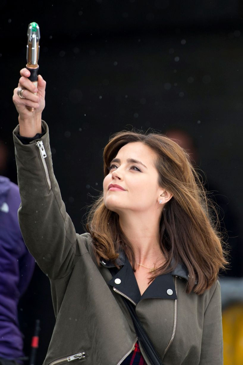 Doctor Who behind-the-scenes pictures: It's Clara as you've never seen her before in these brilliant images