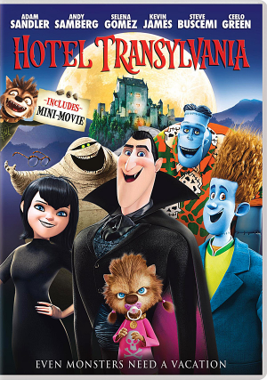 DVD Review Hotel Transylvania Geek Magazine Hotel