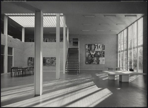 Afbeelding van museum de zonnehof amersfoort ca 1958 for Interieur amersfoort