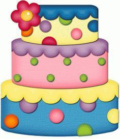 Birthday cake clip art pictures free PicsWordsPNG Pinterest