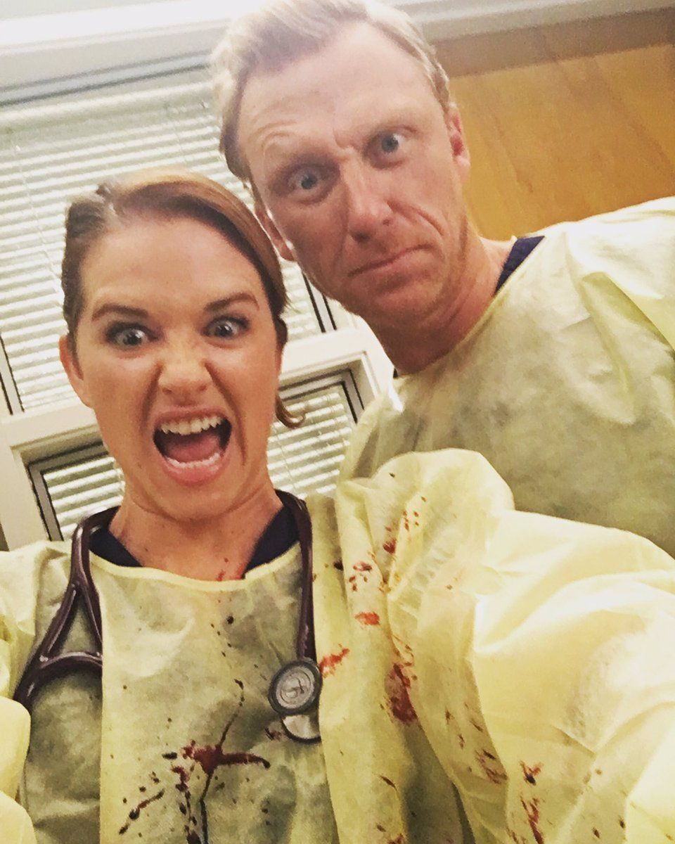 Sarah Drew and Kevin McKidd | Grey\'s anatomy | Pinterest | Anatomía ...