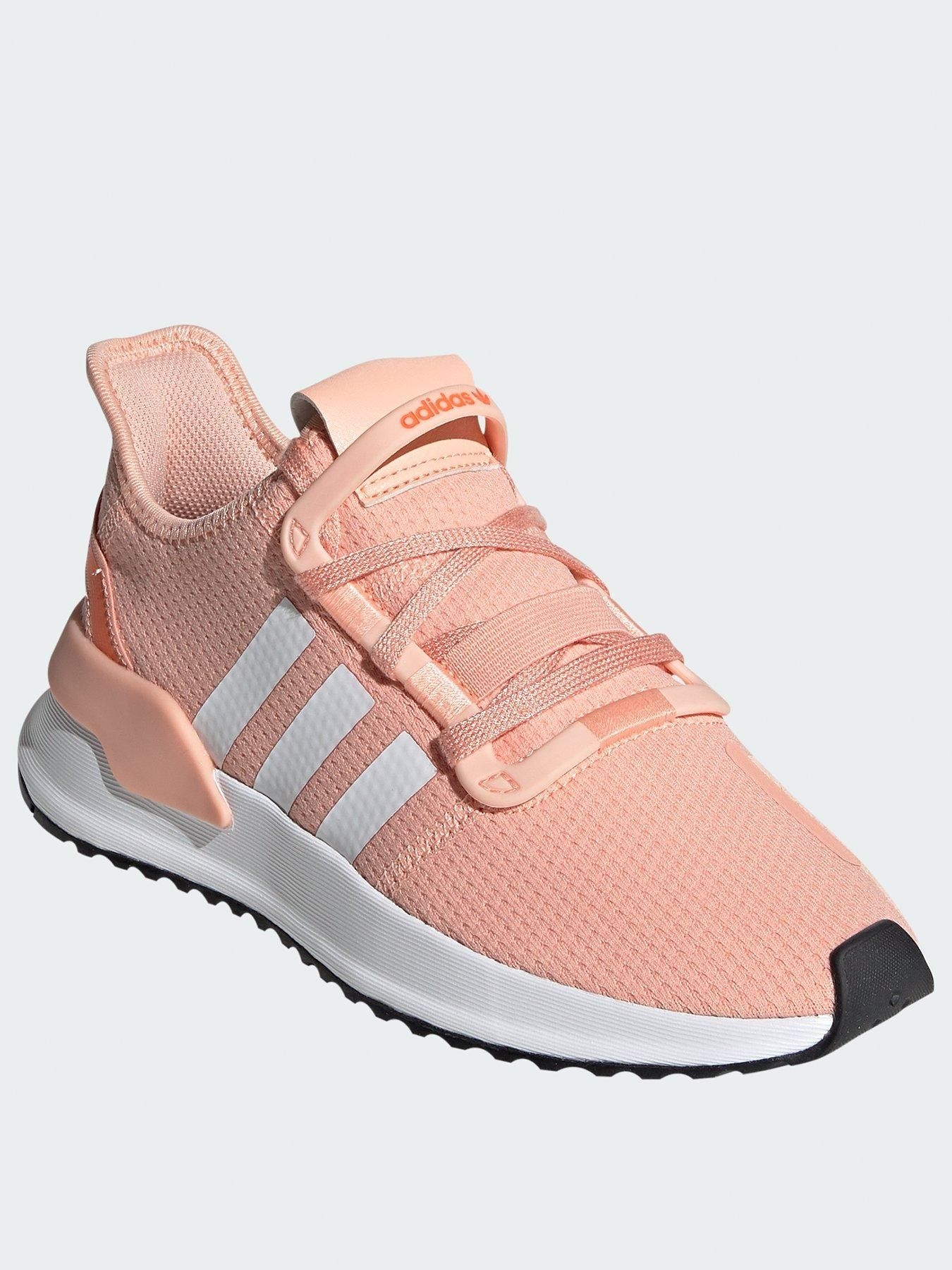 Adidas Originals U_Path Run Junior Trainers PinkWhite