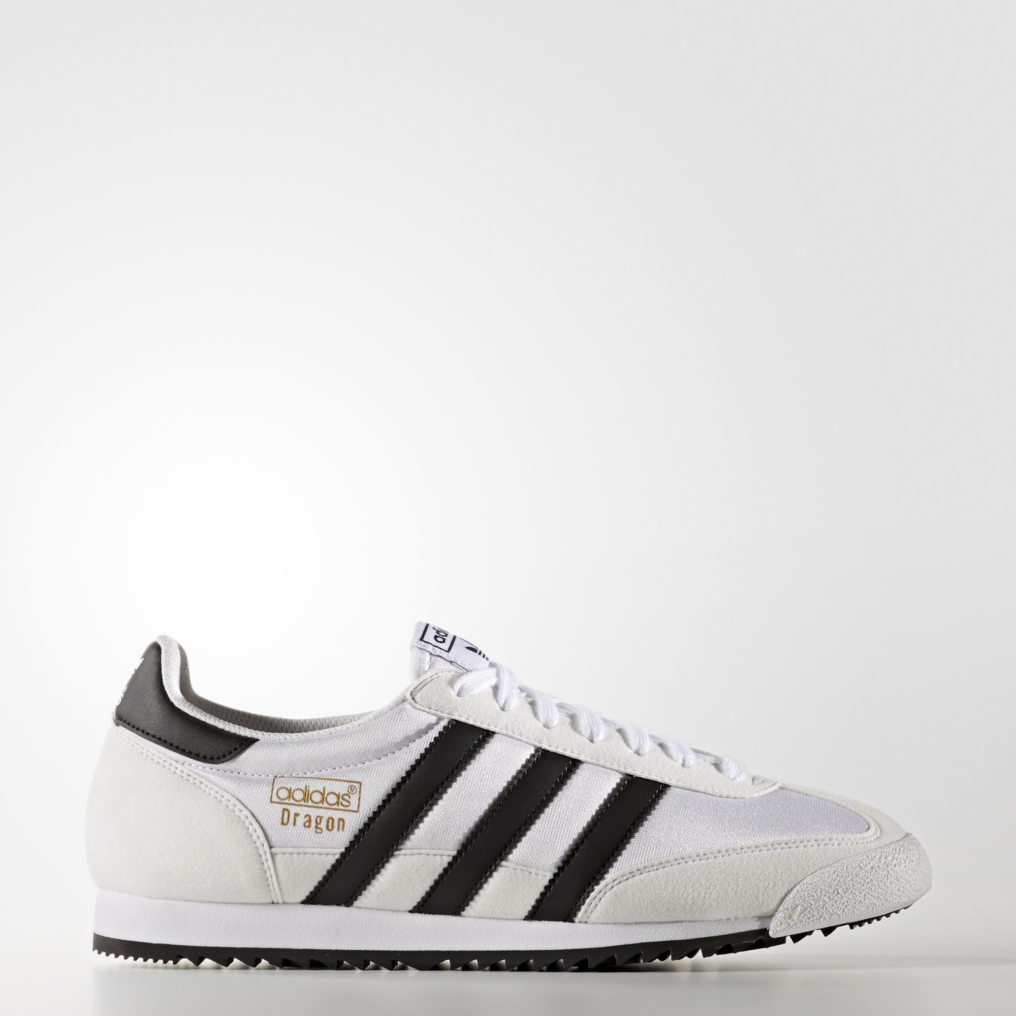 Details about Adidas Originals Dragon Leather Shoes Sneakers Trainers Classic White Black