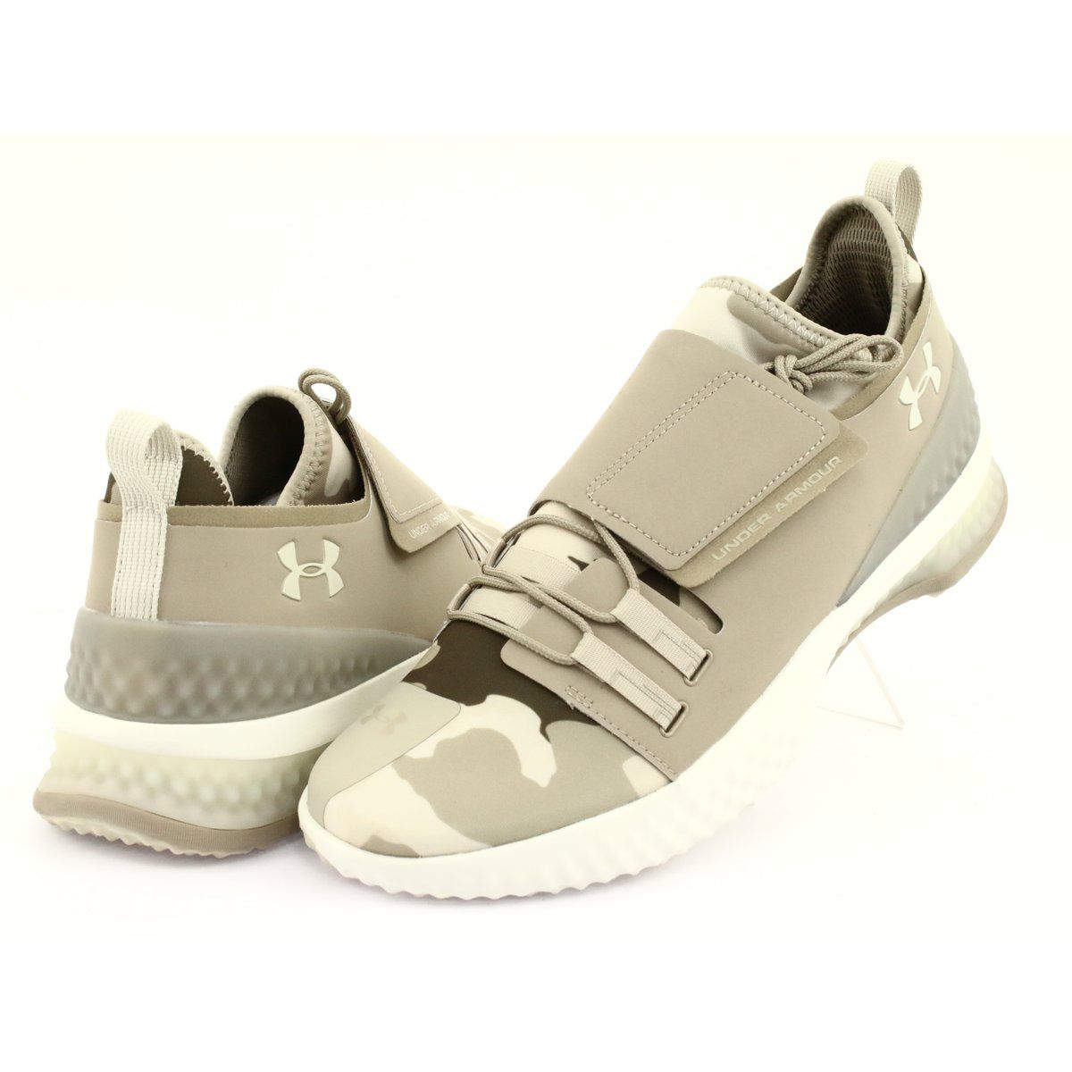 Buty Treningowe Under Armour Architech 3di Valor M 3000368 200 Brazowe Zielone Baby Shoes Under Armour Sneakers
