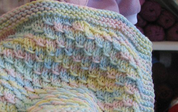 Dragon Baby Blanket, Easy level knitting pattern | Cose di bebi ...