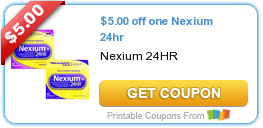 5 Nexium 24 Hr Coupon Plus Lots More Coupons Printable Coupons Ways To Save Money