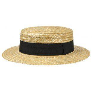Sombrero de Paja Canotier by Lipodo  9624c4bdc43