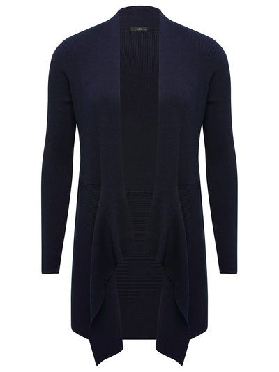 M&Co. Women Ribbed waterfall cardigan | The 'Cardi' | Pinterest ...