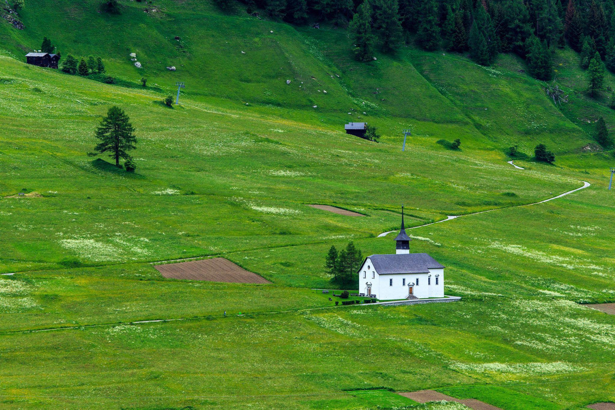Ritzigerfäld, Goms, Schweiz