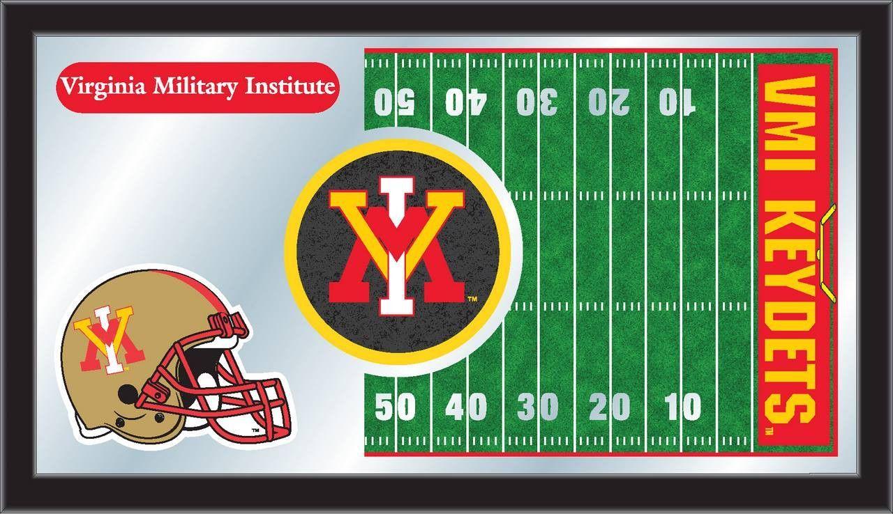 Football Mirror Virginia Military Institute Football Wall Art