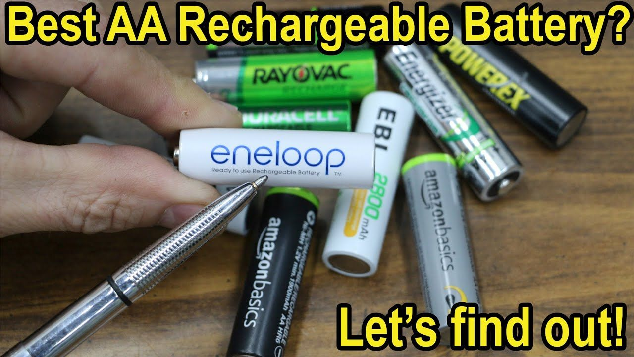 Which Aa Rechargeable Battery Is Best After 1 Year China S Nimh Vs Japan S Let S Find Out Youtube Rechargeable Batteries Battery Duracell