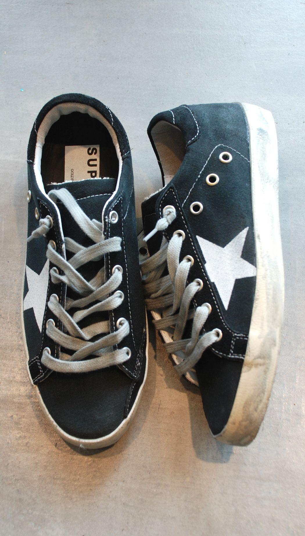 Golden Goose Superstar Black Sneakers