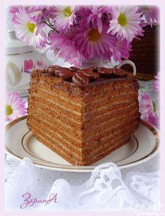 """Торт """"Престиж""""   Кулинарные рецепты от «Едим дома!»"""