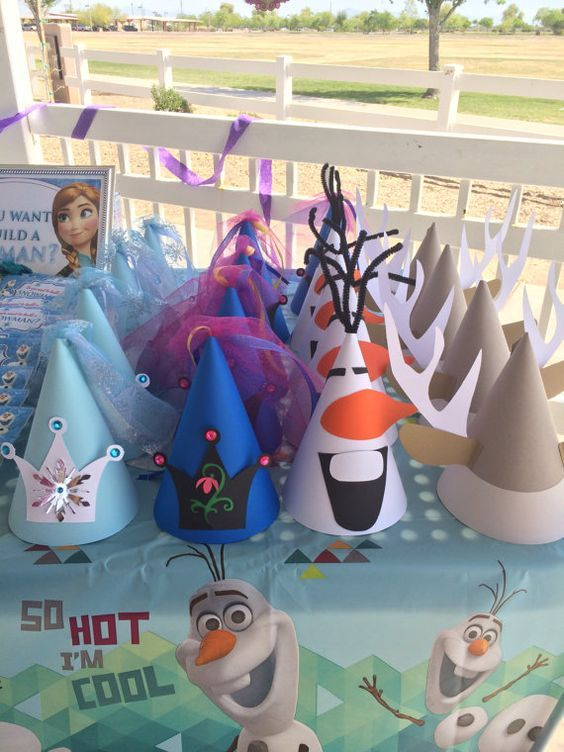 30 Frozen Party Ideas Your Little One Will Love – Pretty My Party