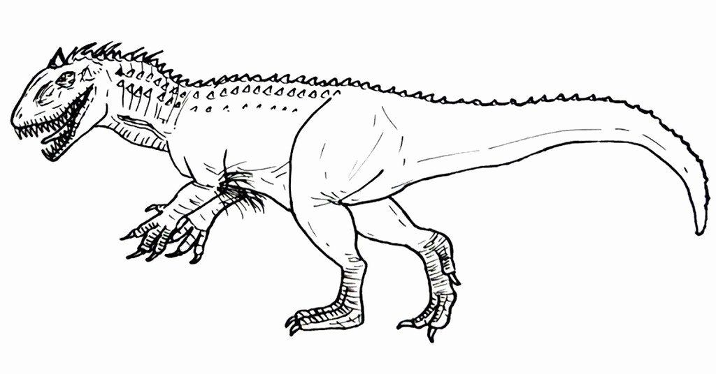 Indominus Rex Coloring Page Best Of Hybrid Dinosaur Indominus Rex Coloring Picture Dinosaur Coloring Pages Dinosaur Coloring Minion Coloring Pages