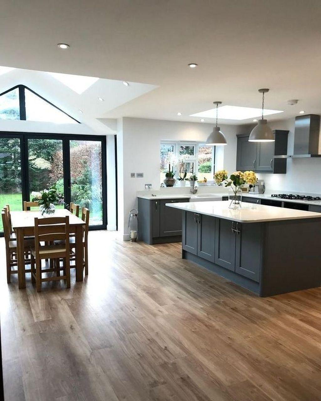 AMAZING KITCHEN DESIGN IDEAS   FRUGAL LIVING   Open plan kitchen ...