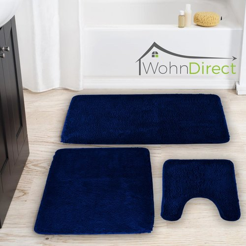 Costner 3 Piece Bath Mat Set Belfry Bathroom Bath Mat Curved Bath Mat
