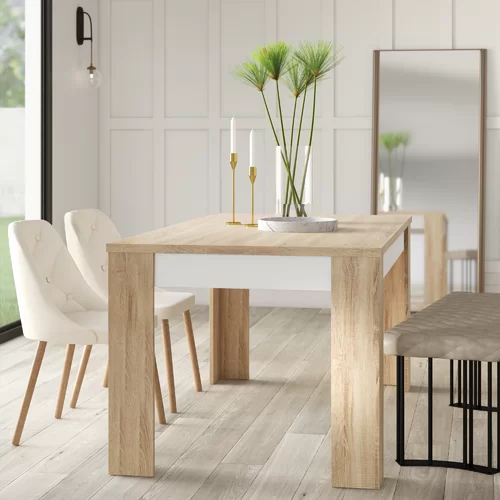 Algedi Dining Table Dining Table In Kitchen Dining Table