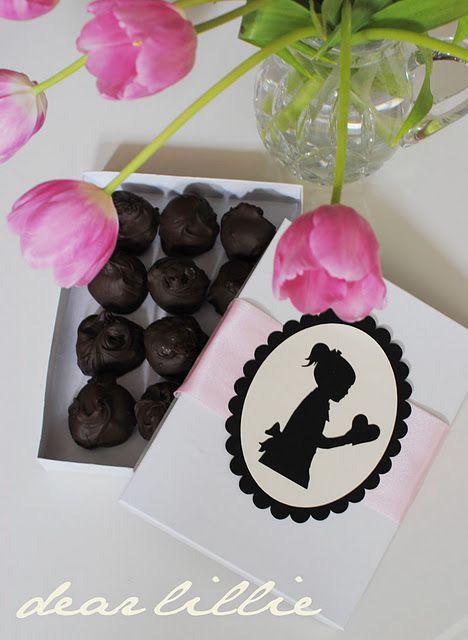Truffles cute packaging