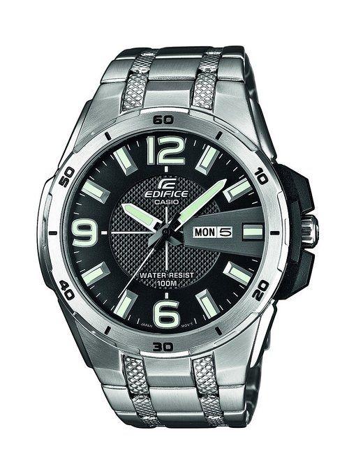 f11ebbdcefc8 ¡Oferta! Reloj CASIO Edifice EFR-104D-1AVUEF con correa de acero inoxidable  por sólo 77 euros.