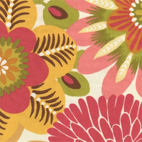 Kiki Dahlia Robert Allen Fl Cotton Drapery Fabric 25 Yard Bolt 6860