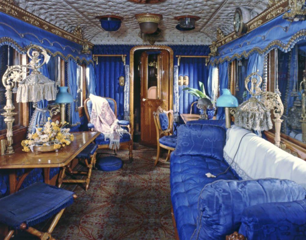 Salón de la Reina Victoria [vagón de ferrocarril (1869