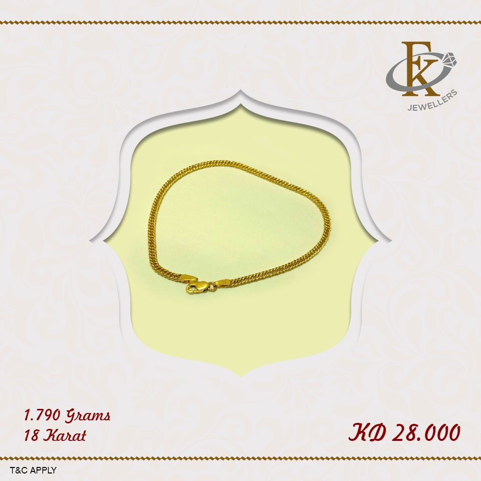 This Would Make The Perfect Gift For A Friend Or Loved One Price 28 Kd Weight 1 790 Grams Karat 18 How To Order Share With Us Your Shipping