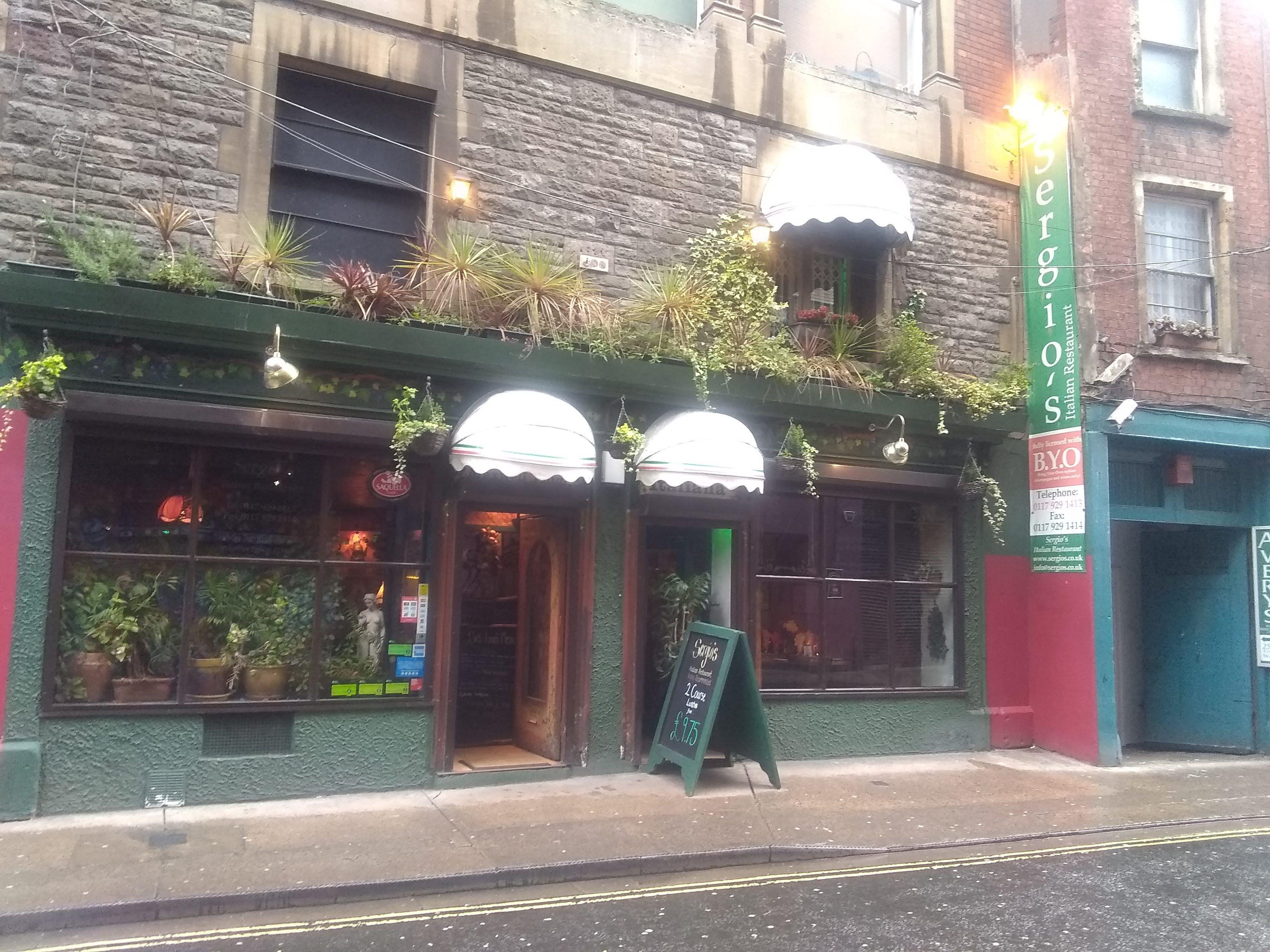 Italian Restaurant Bristol England