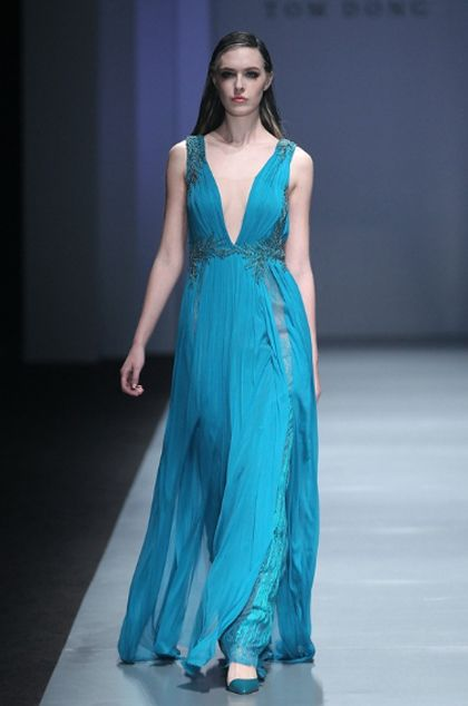 For the Lady of House Velaryon, Tom Dong China Fashion Week