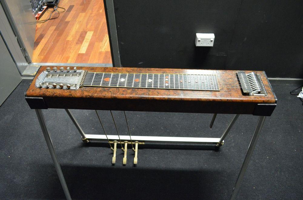 Sho Bud Maverick Pedal Steel Guitar Vintage Rare In Musical Instruments Instruments Guitars Electric Ebay Lap Steel Guitar Pedal Steel Guitar Steel Guitar